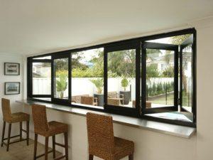 Aluminium Bi Fold Window